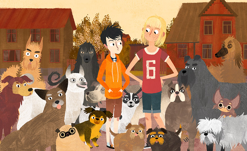 ArtScience on Screen: Jacob, Mimmi and the Talking Dogs