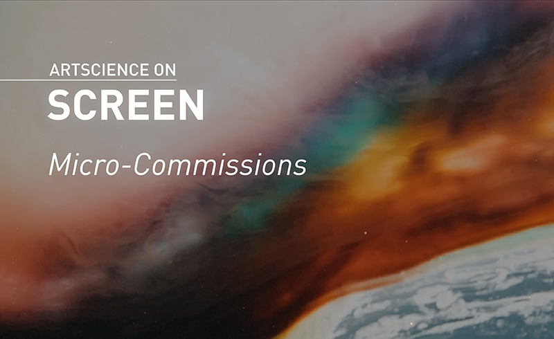 ArtScience on Screen: Micro-Commissions