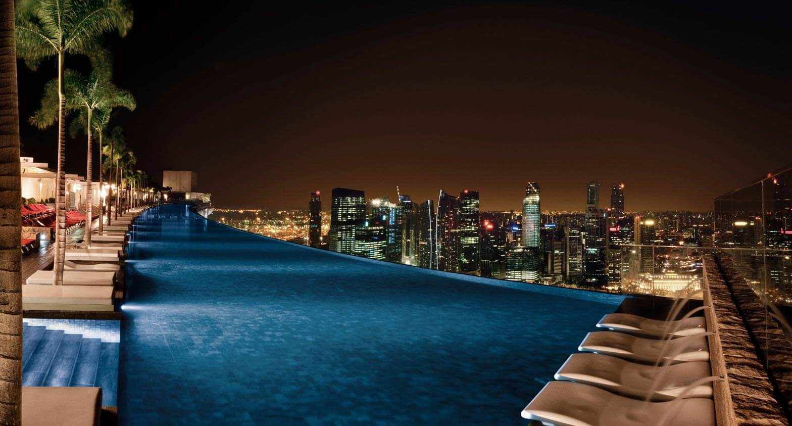 Infinity Pool Marina Bay Sands Swimming Pools In Singapore