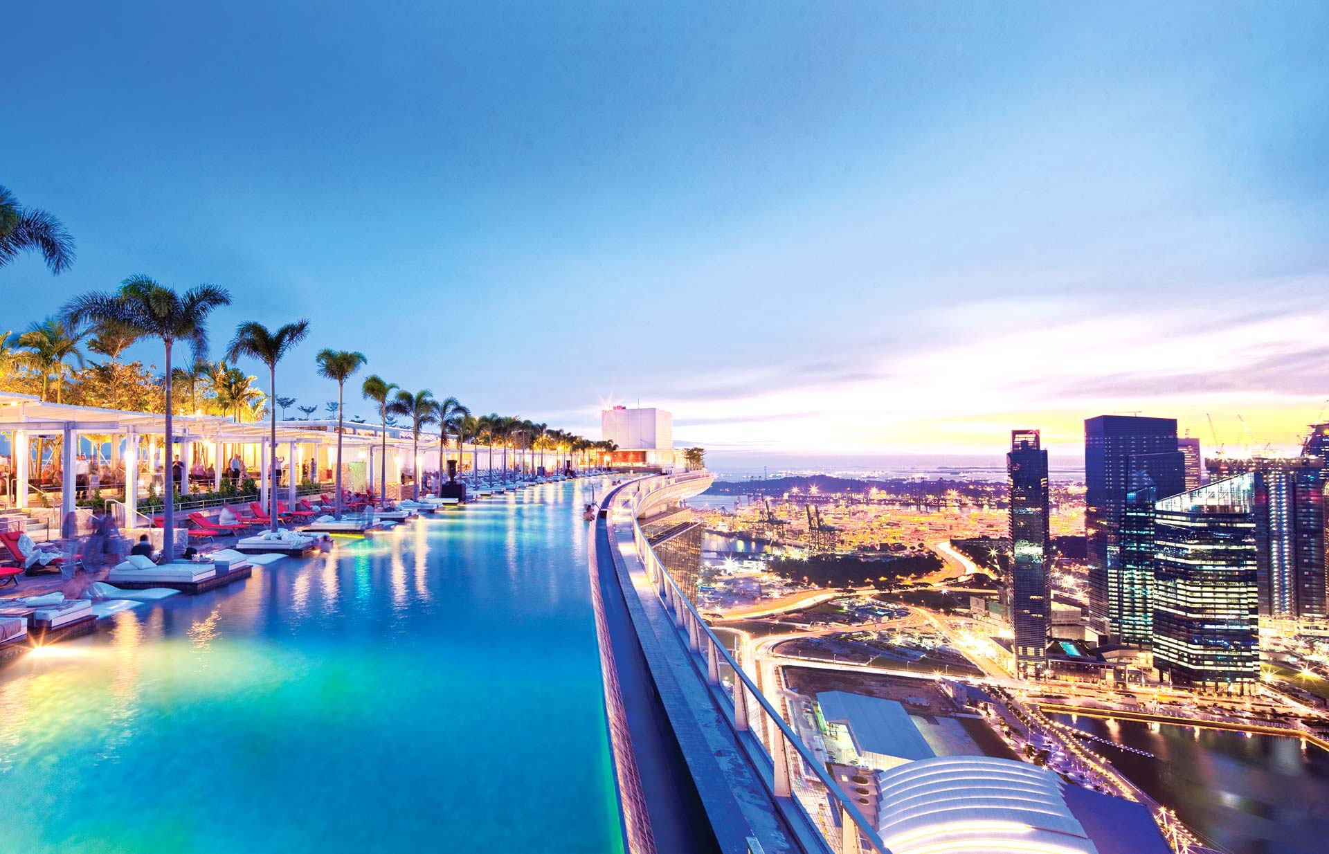 Infinity Pool | Marina Bay Sands | Swimming Pools in Singapore