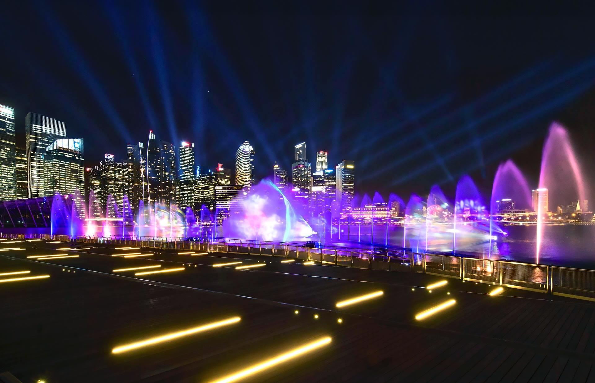 Spectra A Light Amp Water Show Marina Bay Sands