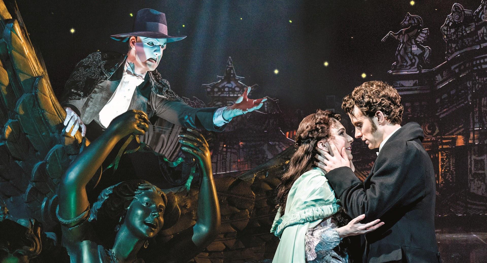 The Phantom Of The Opera Theatre Shows Musical Marina Bay Sands