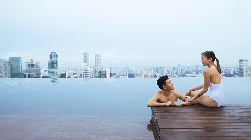 Infinity Pool in Marina Bay Sands
