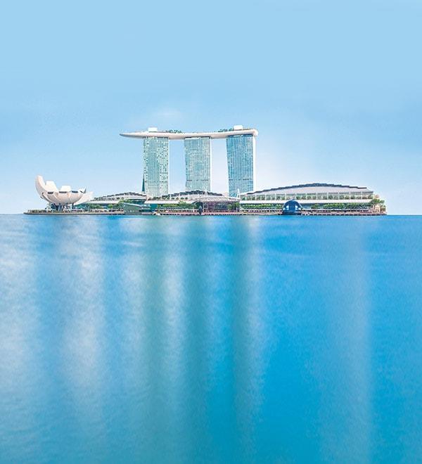 Singapore Luxury Hotel | Infinity Pool | Marina Bay Sands