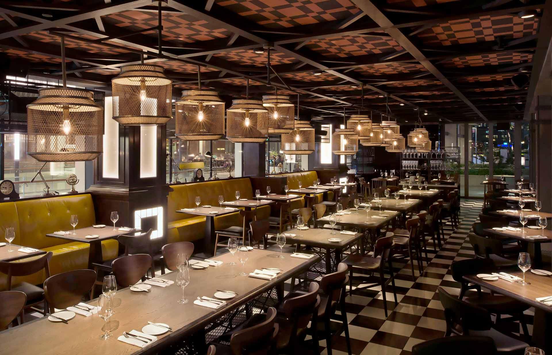 Bread Street Kitchen Gordon Ramsay Marina Bay Sands