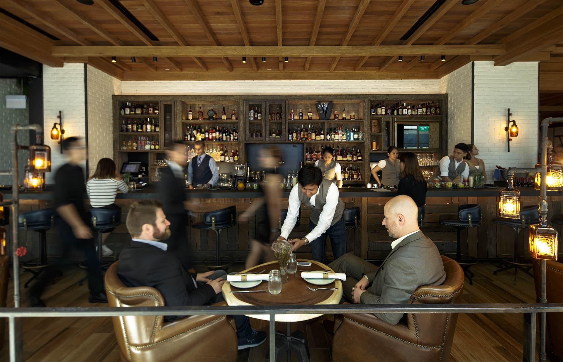 Yardbird Southern Table & Bar   Restaurant in Singapore   Marina ...