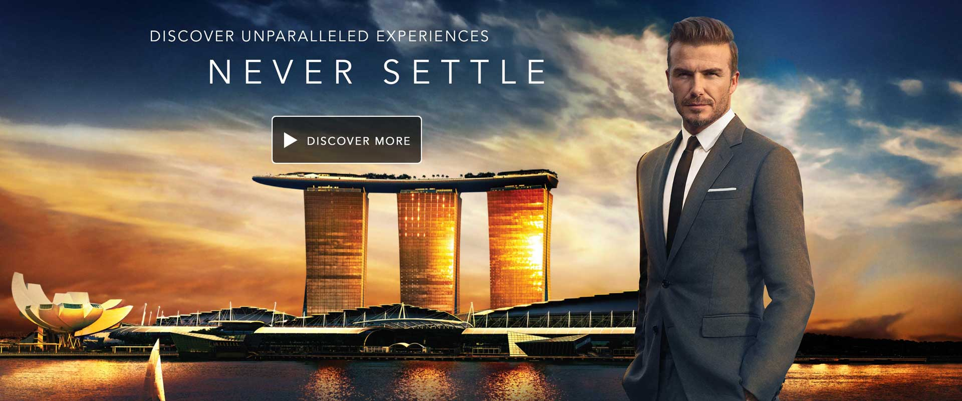 Marina Bay Sands - Singapore 5 star luxury hotel and tour destination