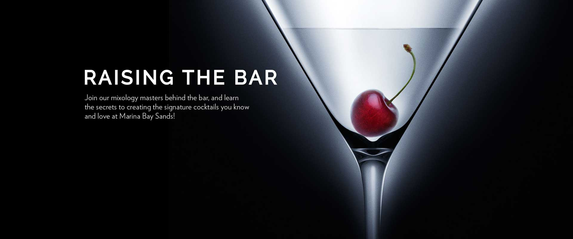 Raising The Bar - Video collection of Marina Bay Sands cocktail recipes