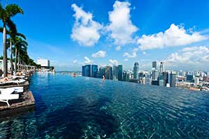 Infinity Pool Marina Bay Sands Highest Largest In The World