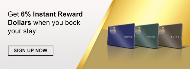 Sands Rewards LifeStyle membership card