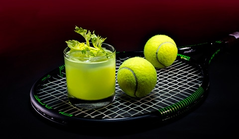WTA Finals Singapore Official Cocktail - Gin Spin at Adrift
