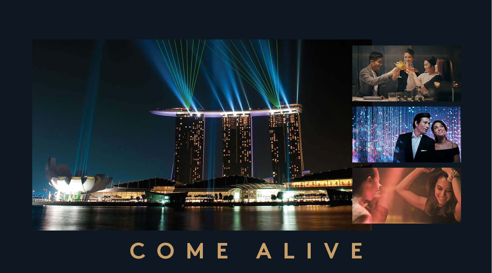 Marina Bay Sands, Luxury 5 Star Hotel and Integrated Resort in Singapore