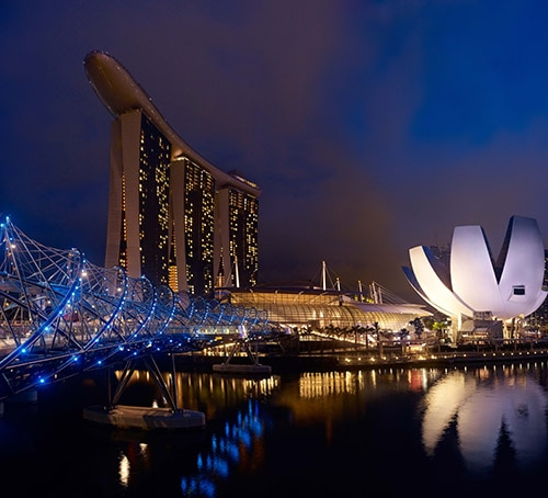 Marina Bay Sands - CREDIT TO TIMOTHY HURSLEY