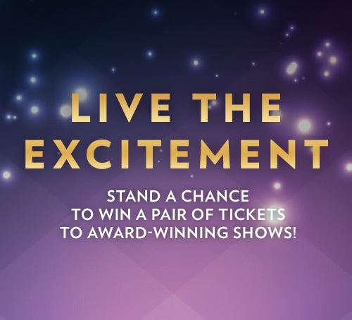 Win MasterCard Theatres Show Tickets at Marina Bay Sands