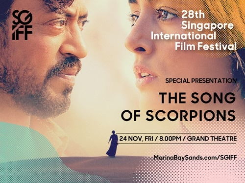 SGIFF Special Presentation: THE SONG OF SCORPIONS