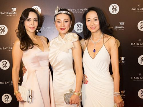 Sliver screen Awards Red Cappet at Marina Bay Sands
