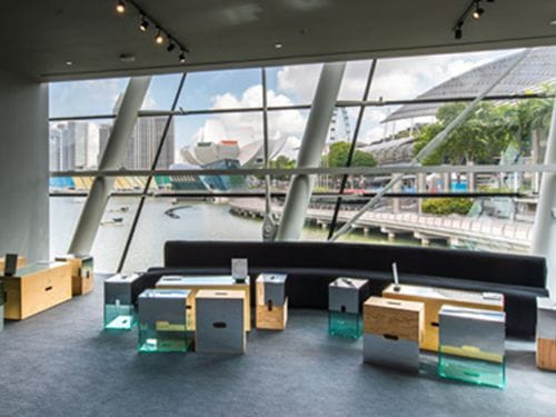 Louis Vuitton Pop-Up Lounge at Marina Bay Sands