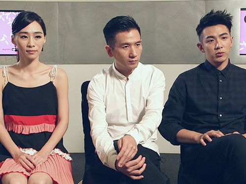 Interviews with Midi Z, Kai Ko, and Wu KeXi at Marina Bay Sands