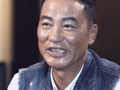 Interview with Simon Yam at Marina Bay Sands