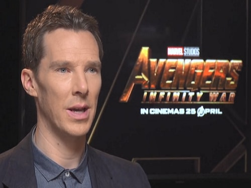 Benedict Cumberbatch at Marina Bay Sands