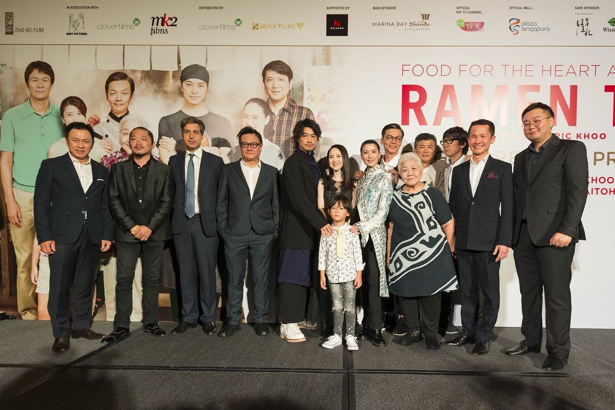 Ramen Teh Red Carpet Gala Premiere at Marina Bay Sands