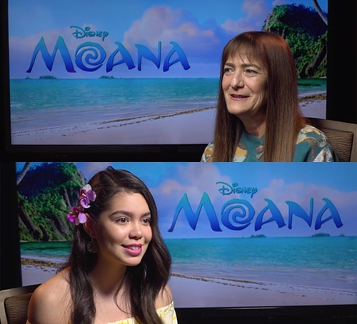 Moana Interview