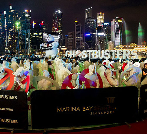 Ghostbusters 2016 in Singapore
