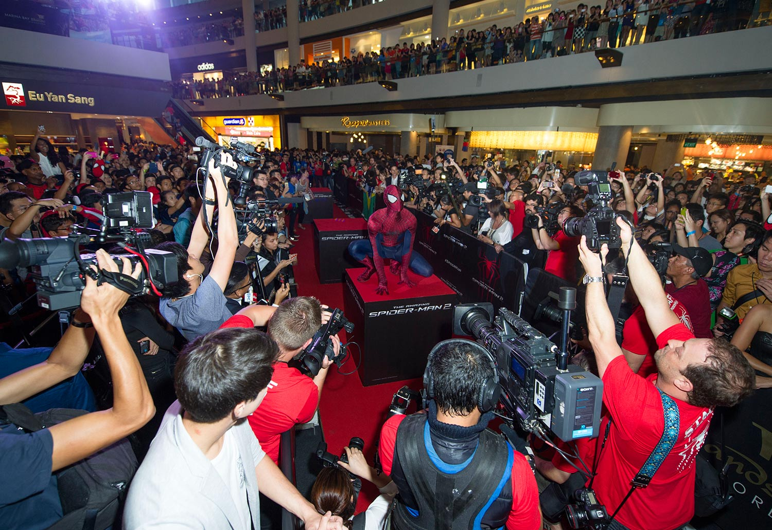 Spider-Man 2 Red Carpet event at MBS