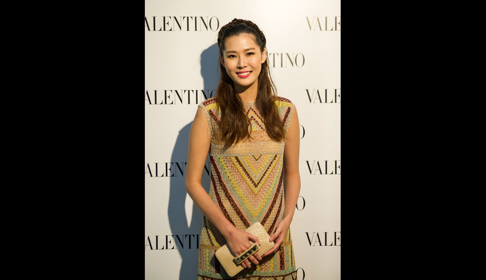 Valentino Opening Carrie Wong Gallery