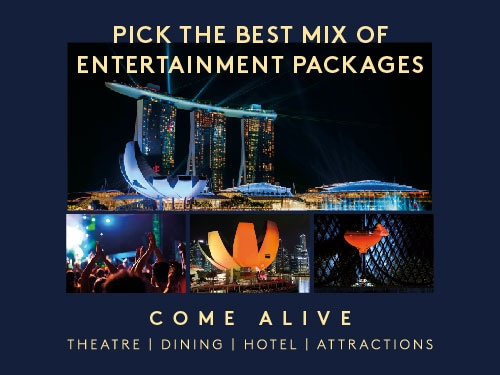 Theatre, Restaurant and Hotel packages in Singapore