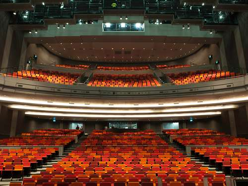 Mastercard Theatres Rental at Marina Bay Sands