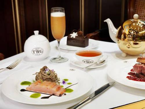 Tea Cocktail by TWG Tea at Marina Bay Sands