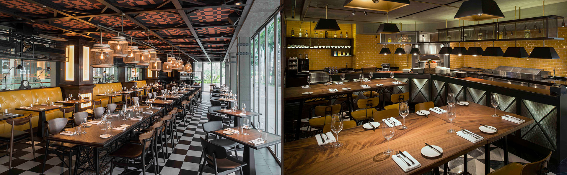 Wine Bottle Inspired Restaurant in Singapore - The Tasting Room ...