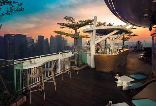 Rooftop Bars In Singapore Marina Bay Sands
