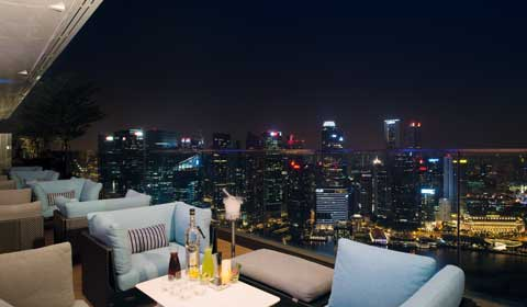 Rooftop Bars at Marina Bay Sands