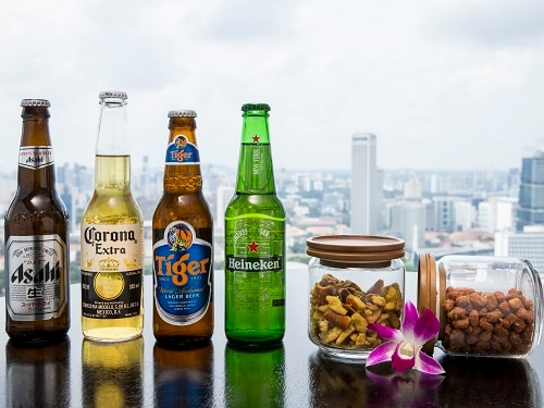 Flight International Beer Tasting @ Marina Bay Sands