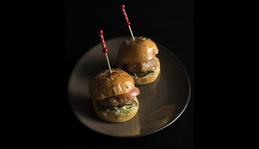 Flight Bar & Lounge - Oriental Sliders with Tangerine Sauce