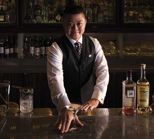 Kazuhiro Chii, Head Bartender at Waku Ghin, Marina Bay Sands