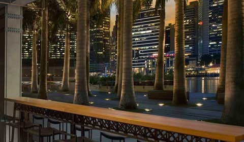 Waterfront Bars at Marina Bay Sands