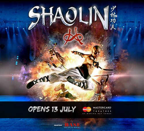Shaolin - Stage Performance in Singapore