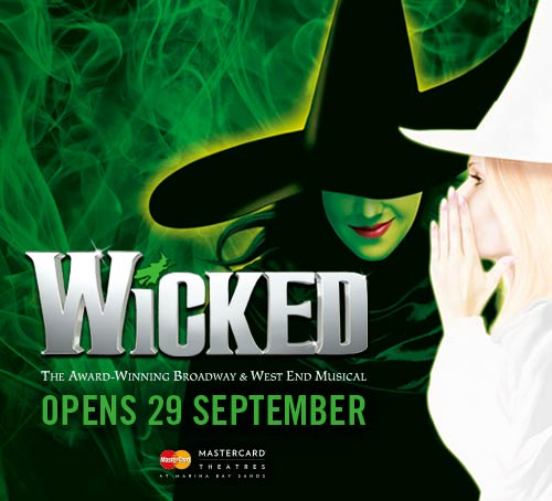 Wicked the Musical in Singapore