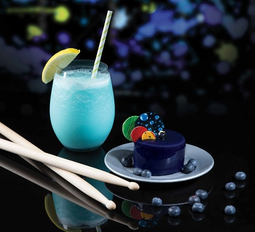 Blue Man Group inspired drinks and dessert at SweetSpot