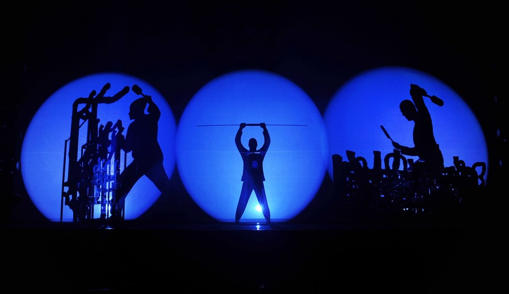 Blue man group live in singapore 2016 at marina bay sands - Blue man group box office ...