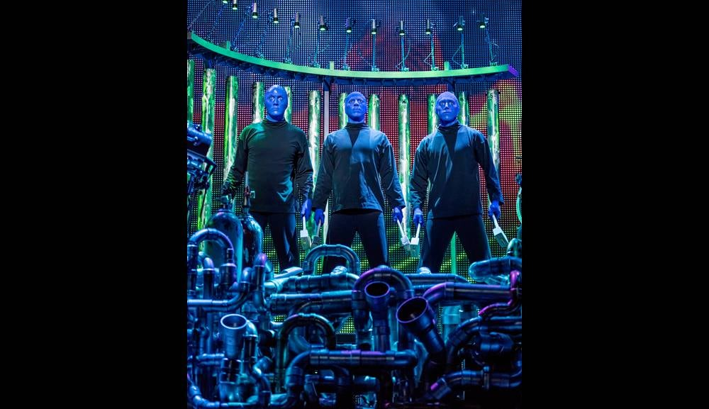 Blue Man Group in Singapore at Marina Bay Sands