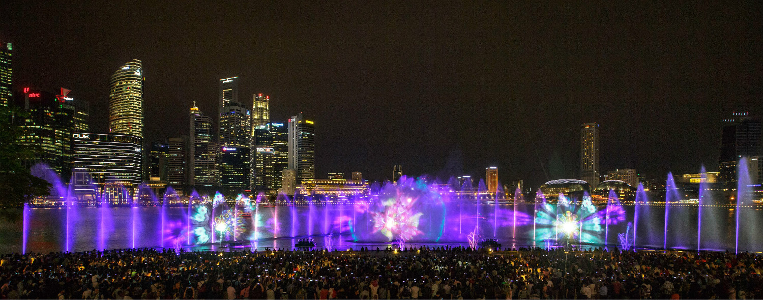 spectra a marina bay sands light and water show