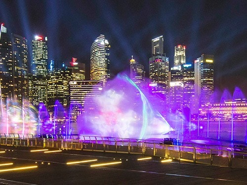 Spectra - A Light and Water Show at Marina Bay Sands
