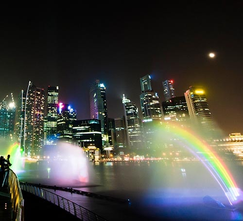 The Wonder Full Light and Sound Show, Singapore Visitors Guide, Marina Bay Sands