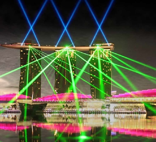Wonder Full - Free Light and Water Show in Singapore