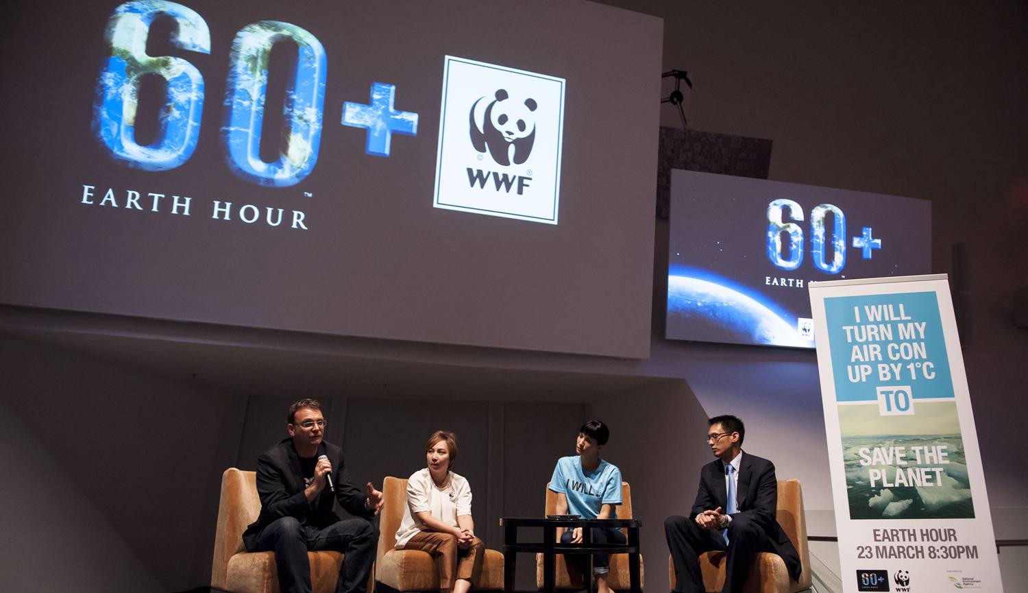 WWF Earth Hour Press Conference