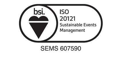 ISO20121 Sustainable Events Management System Certification